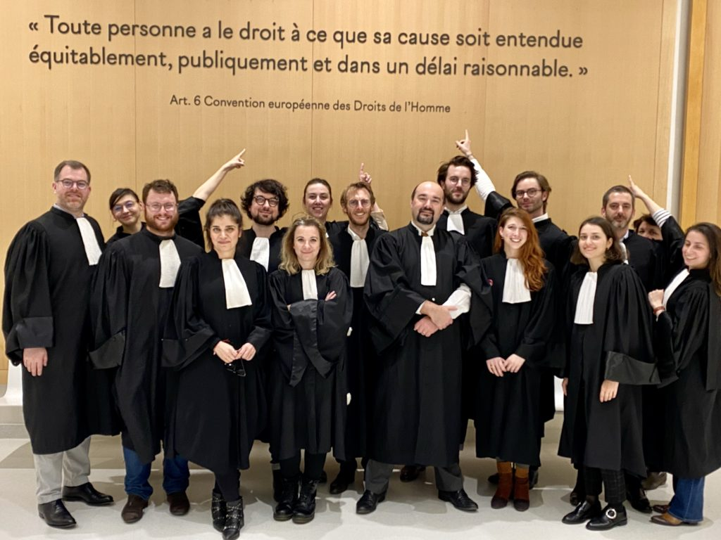 La justice est nue