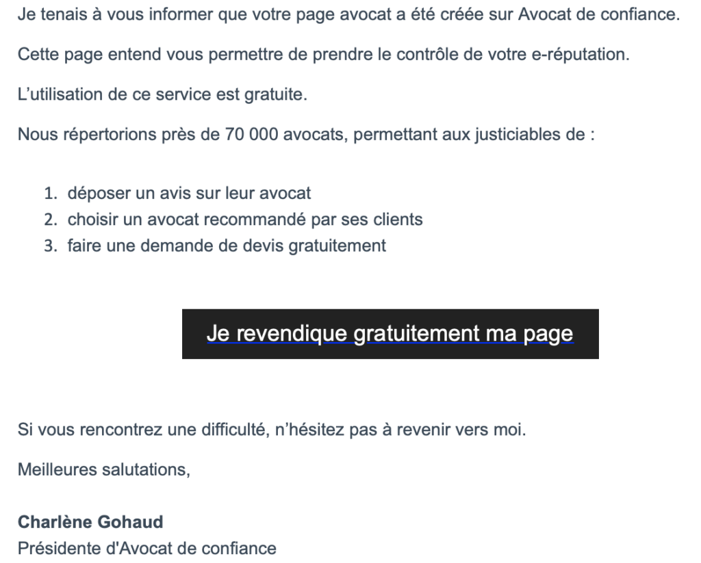Le CNB déclare la guerre au site avocatdeconfiance.fr
