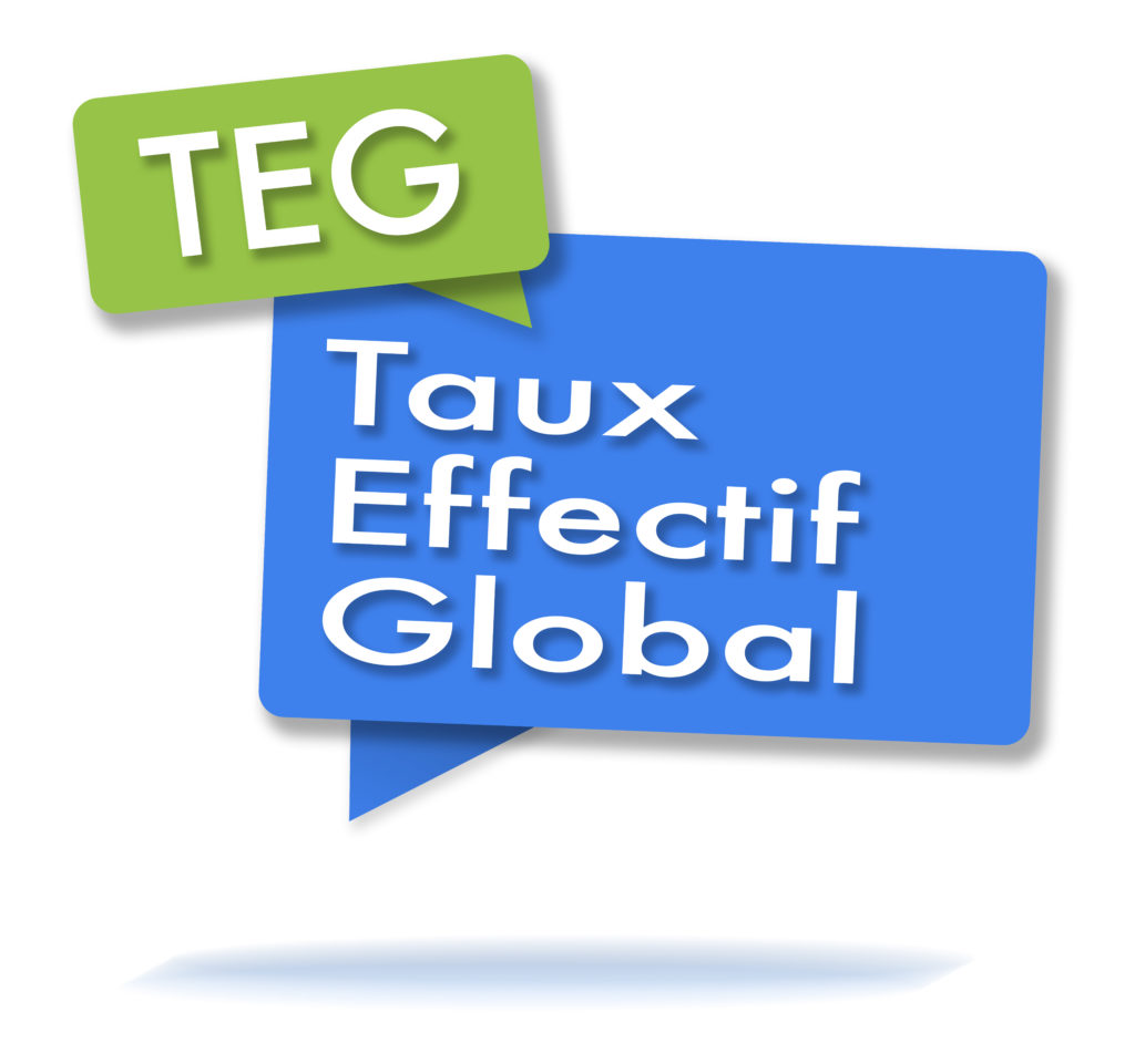 Pictogramme taux effectif global TEG